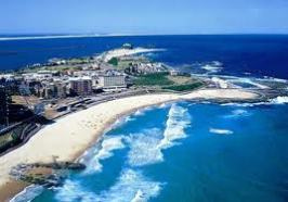 02 NEWCASTLE BEACH AERIAL SHOT