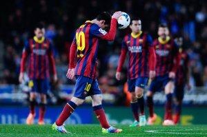Real Sociedad de Futbol v FC Barcelona - La Liga