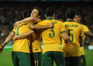 socceroos hug
