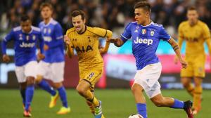 MELBOURNE, AUSTRALIA - JULY 26:  Paulo Dybala of Juventus runs with the ball during the 2016 International Champions Cup match between Juventus FC and Tottenham Hotspur at Melbourne Cricket Ground on July 26, 2016 in Melbourne, Australia.  (Photo by Michael Dodge/Getty Images)